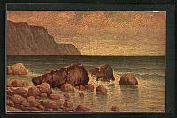old postcard: Künstler-AK Degi Nr. 1265: Meeresrauschen
